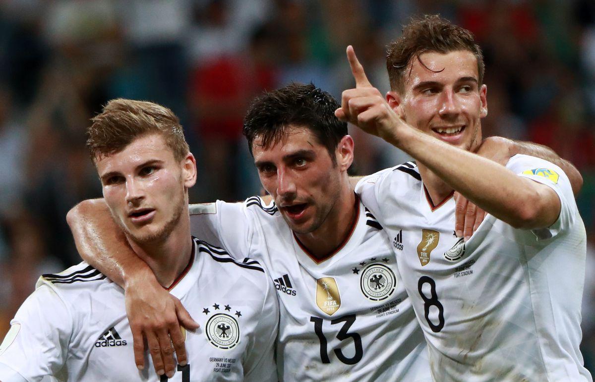 2017 FIFA Confederations Cup semifinal: Germany vs Mexico