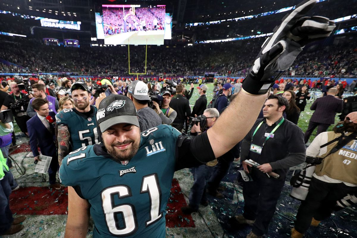4658712fb48 Stefen Wisniewski, Eagles reportedly parting ways - Bleeding Green ...