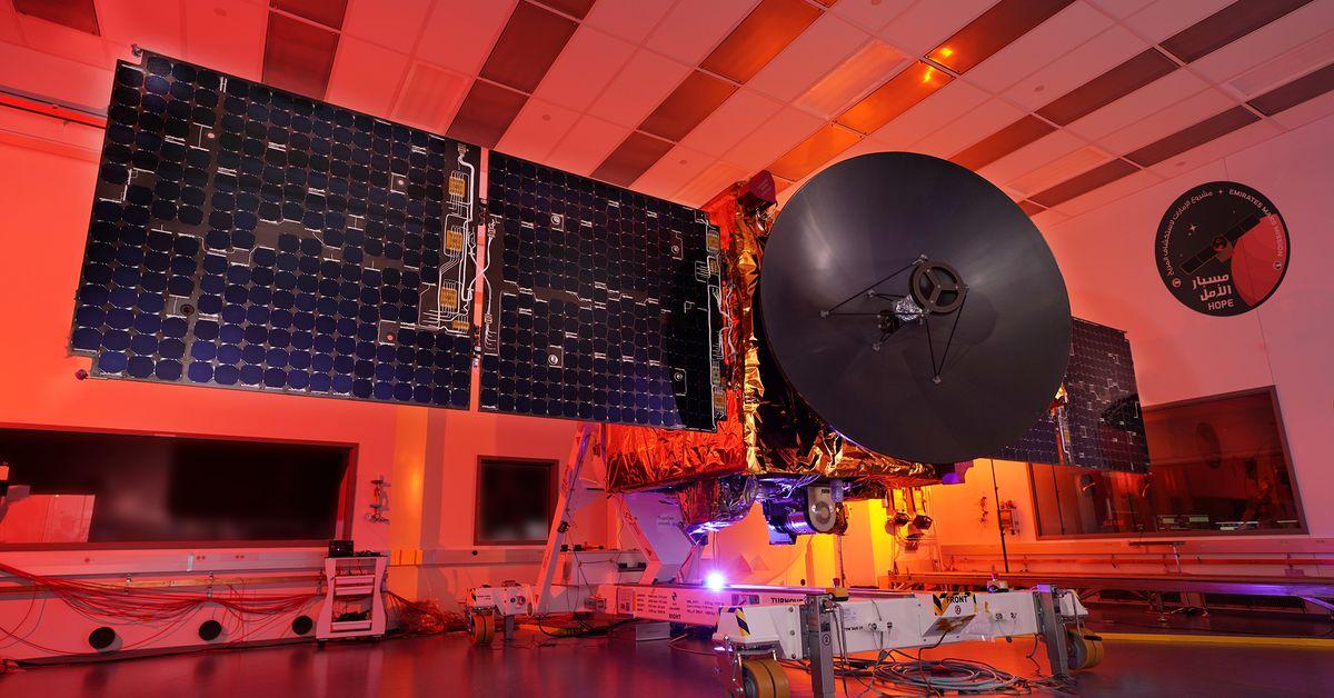 Los EAU llegan a Marte por primera vez con su sonda Hope