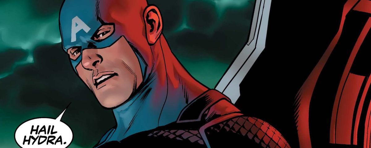 "Captain America: Steve Rogers #1 - ""Hail Hydra"""