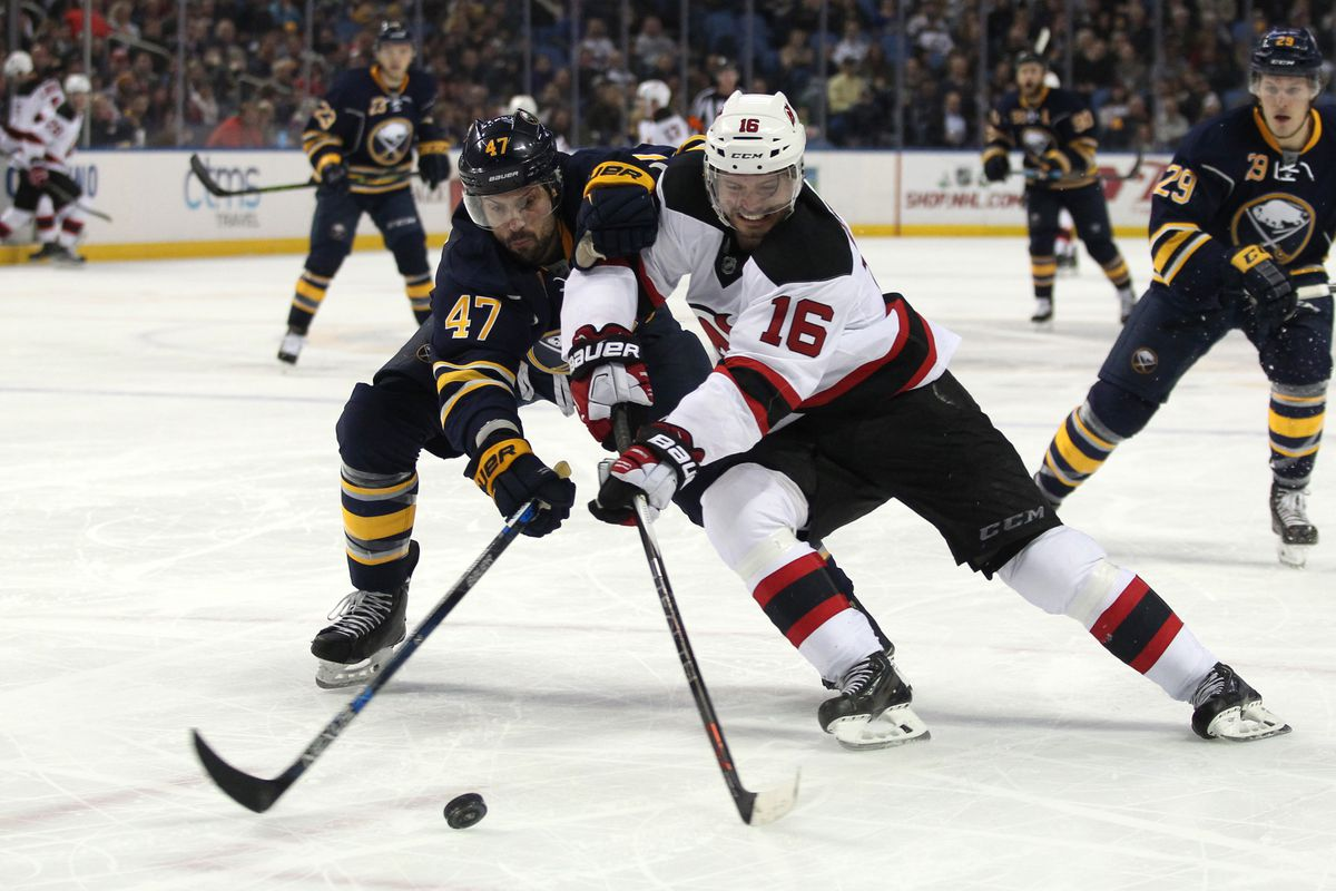 NHL: New Jersey Devils at Buffalo Sabres
