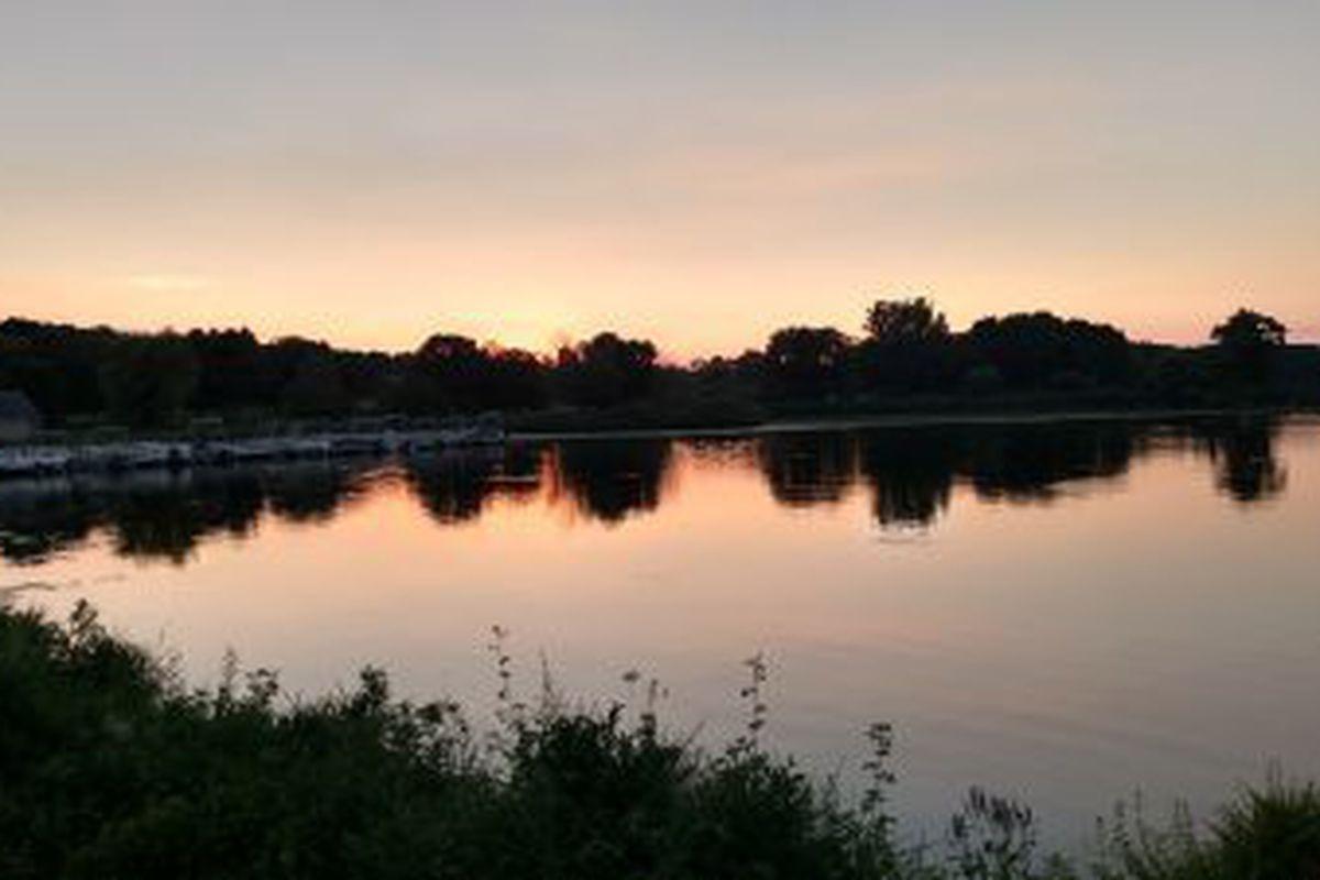 Shabbona Lake sunset.Dale Bowman/Sun-Times