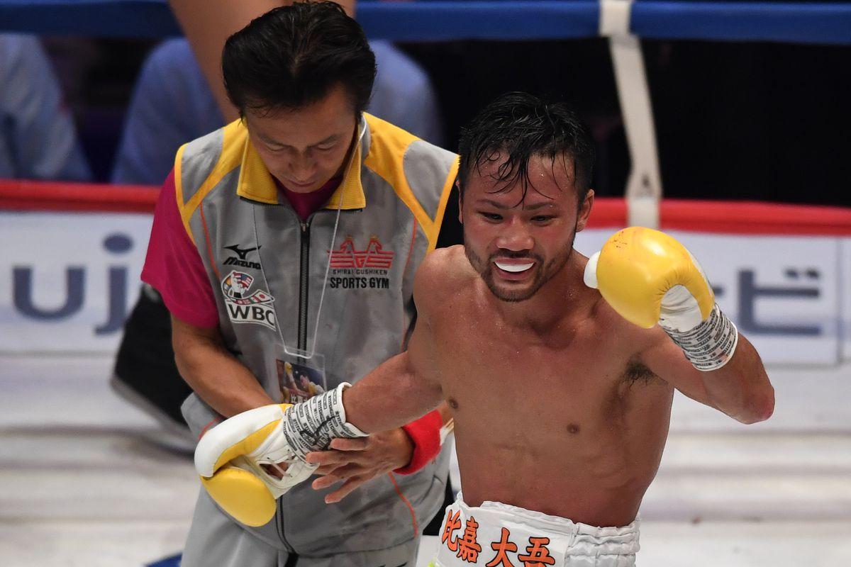 Daigo Higa v Thomas Masson WBC Flyweight