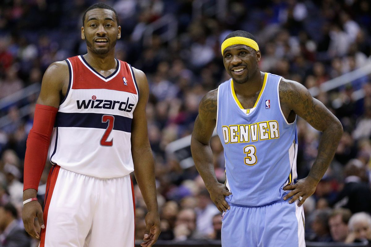 Tonight is match up of two the NBA's top point guards in John Wall (L) and Ty Lawson (R).