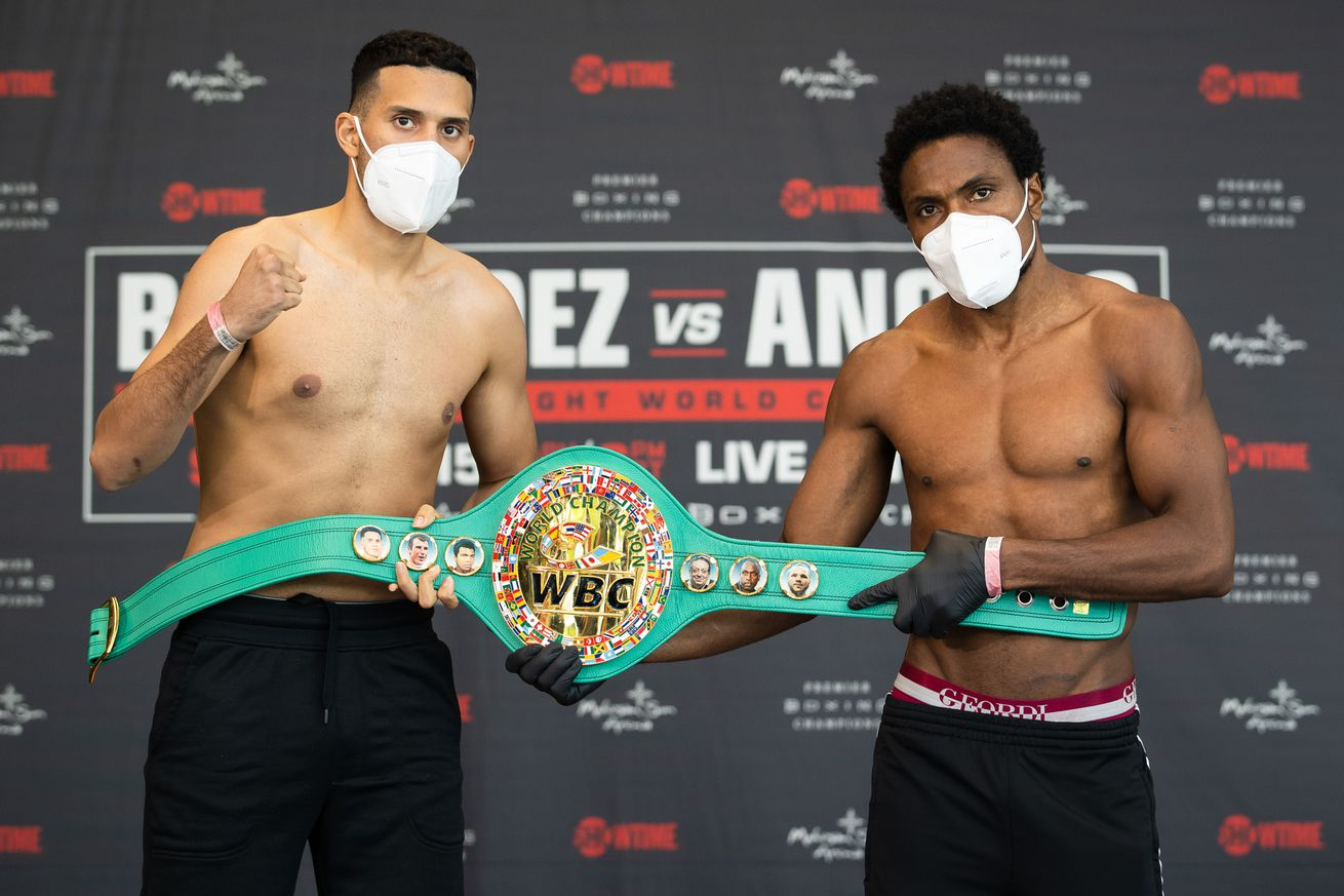 SHO Benavidez Angulo Weigh In 018.0 - Benavidez-Angulo: Live coverage, 9 pm ET