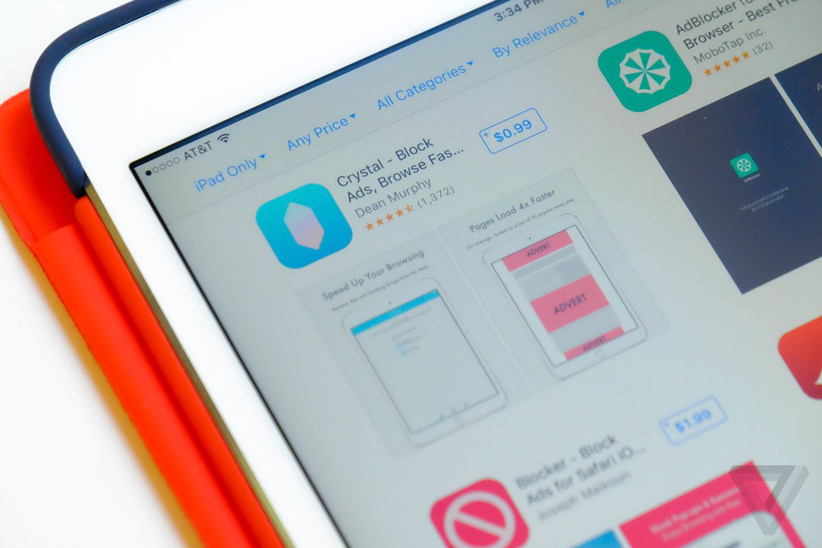 Best Selling IOS Ad Blocker Crystal Will Let Companies Pay To Show You Ads