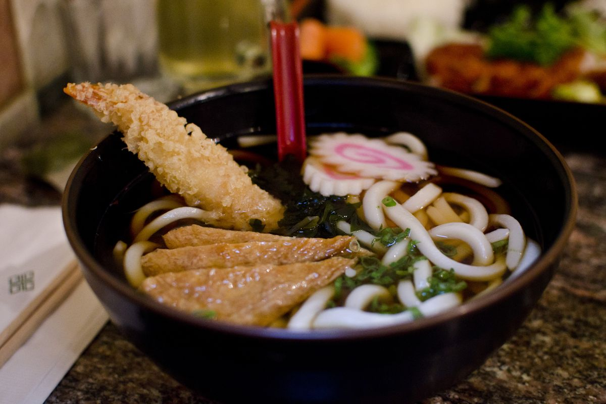 Udon from Chocho's, where the fire began