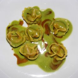 """scargot-stuffed cappelletti from Ai Fiori by <a href=""""http://www.flickr.com/photos/37619222@N04/6222380933/in/pool-eater/"""">The Food Doc</a>."""