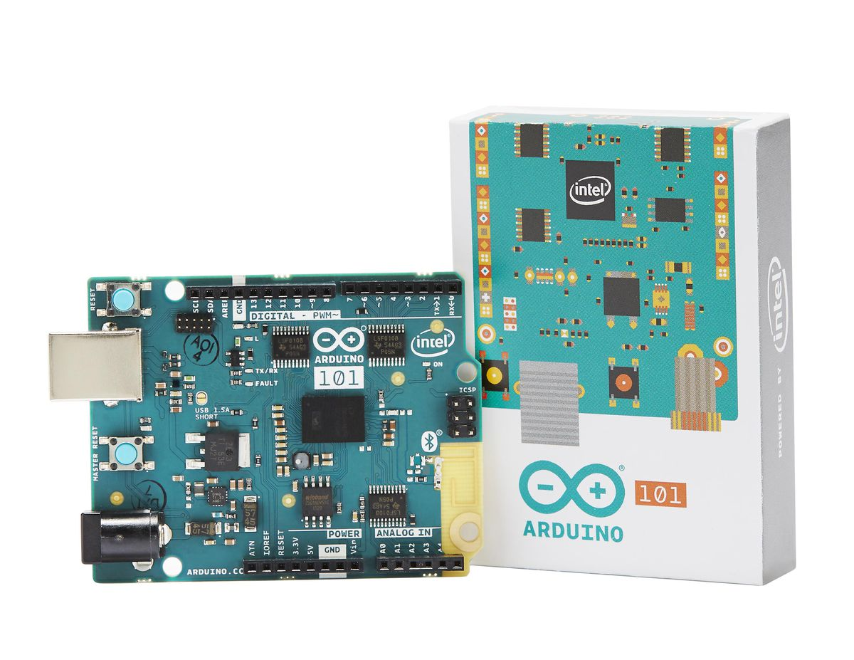 This new Arduino board is the first product to use Intel's Curie