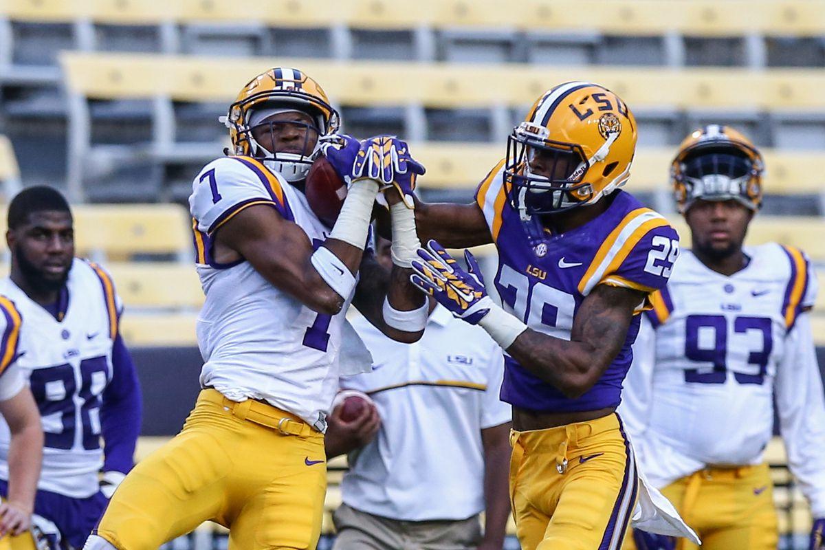 NCAA Football: Louisiana State Spring Game