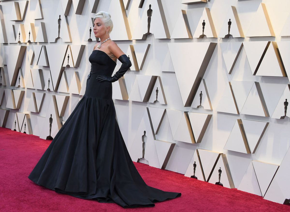 Lady Gaga arrives for the 91st Annual Academy Awards at the Dolby Theatre in Hollywood, California on February 24, 2019, wearing a lavish Alexander McQueen gown and the famed 128.54-carat Tiffany Yellow Diamond.| MARK RALSTON/AFP/Getty Images