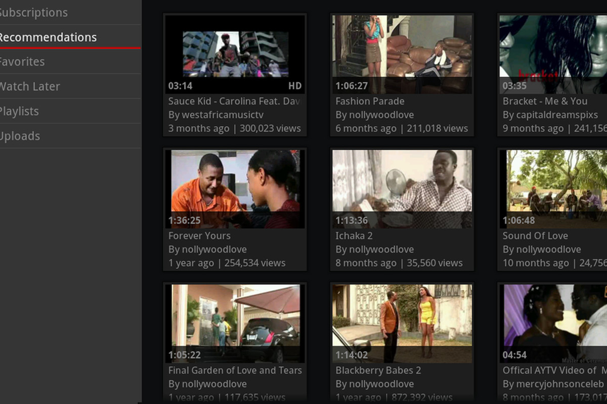 Google TV gets updated YouTube app with recommendations and channel