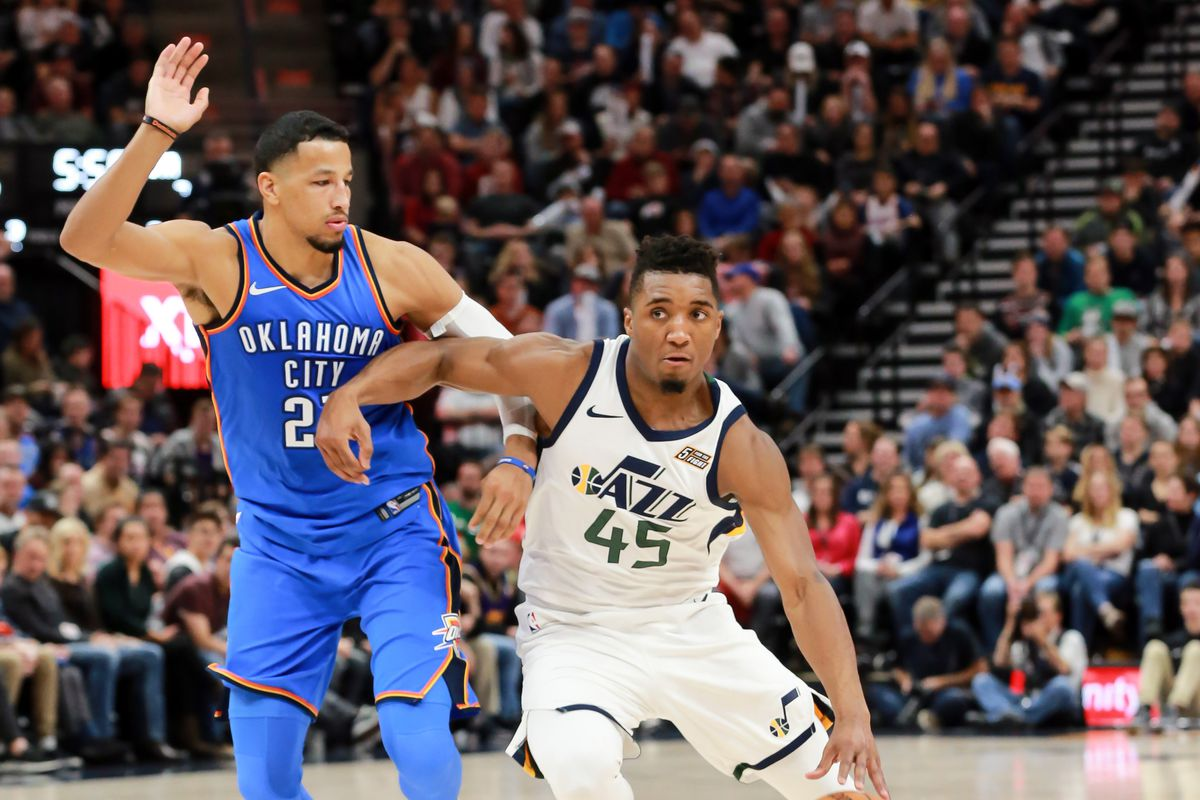 5ede723fa What would it take for the Utah Jazz to beat the Oklahoma City ...
