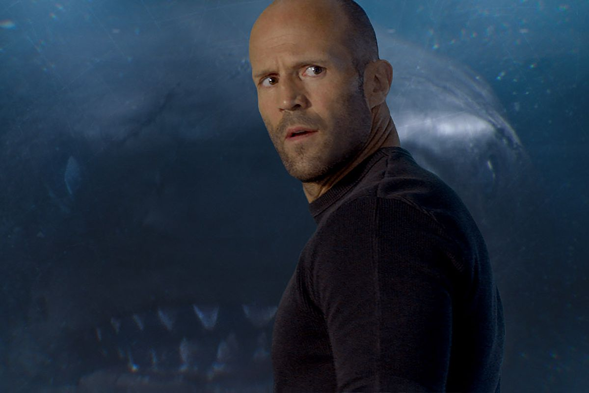 """Jason Statham plays a rescuer reunited with the sea beast in """"The Meg.""""   WARNER BROS."""