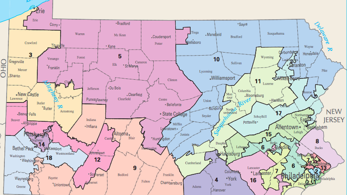 pennsylvania s gerrymandered house map was struck down with huge implications for 2018 vox