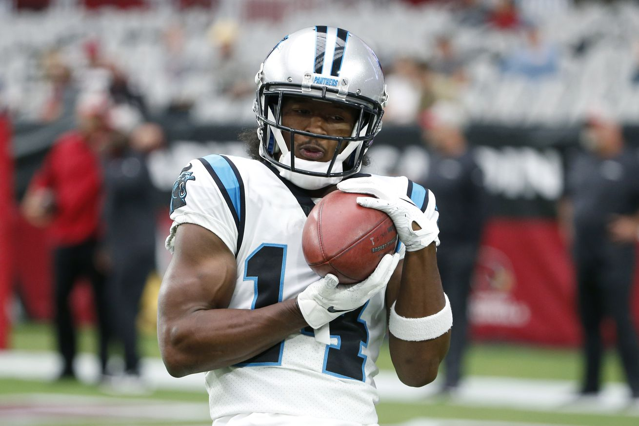 The Panthers have released Ray-Ray McCloud