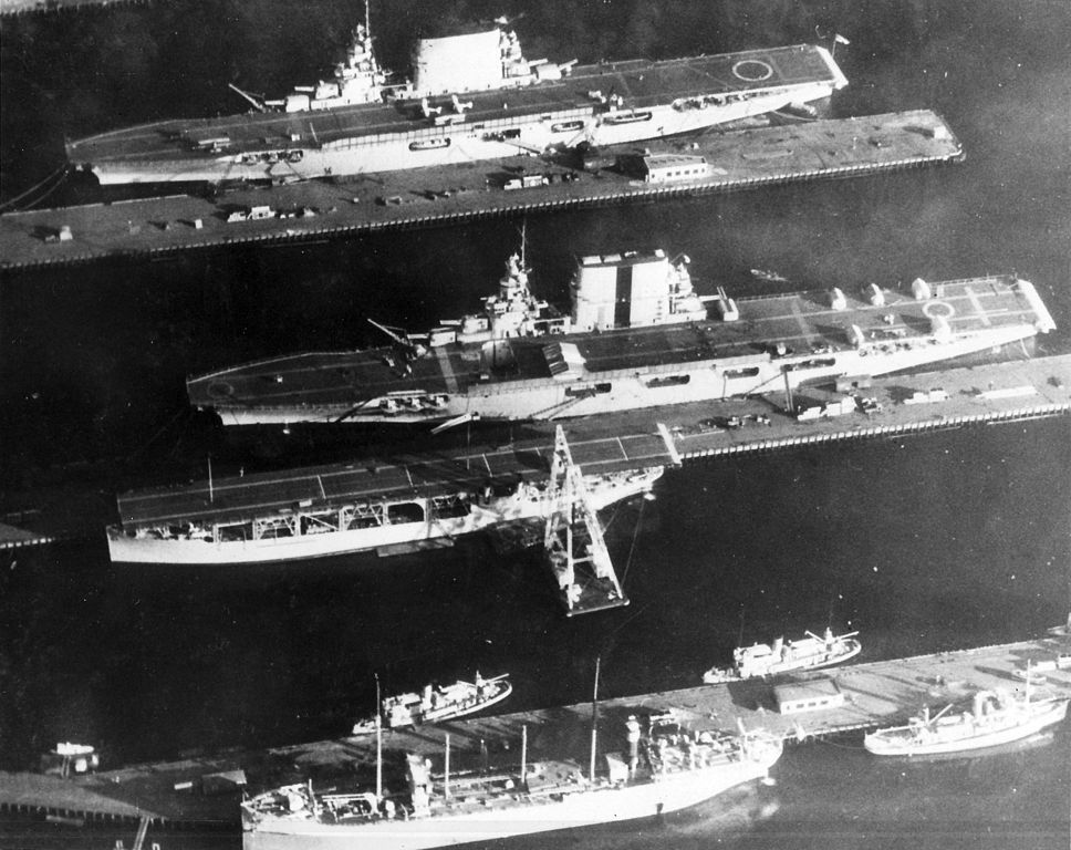 The aircraft carrier