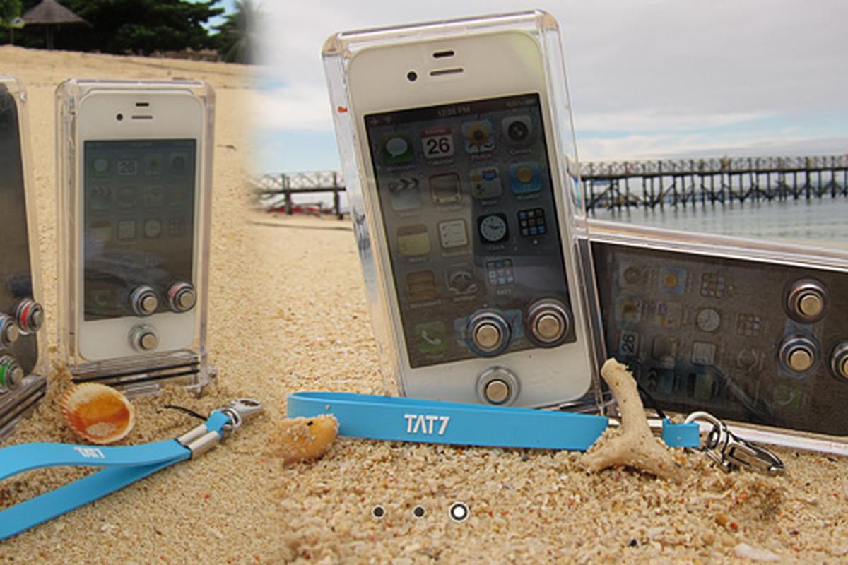tat7 iphone scuba case