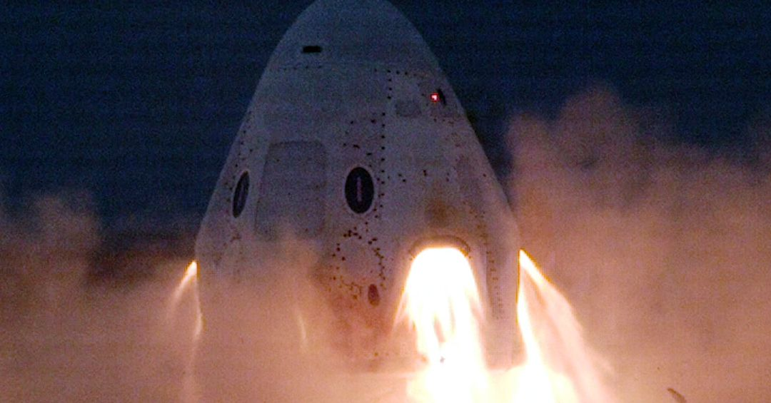 Watch SpaceX fire up the emergency engines on its new crew spacecraft