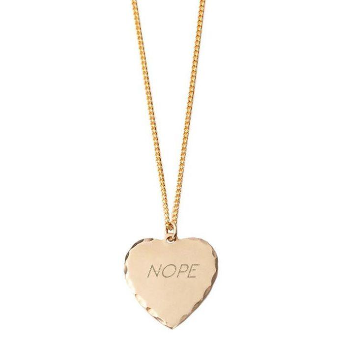 In God We Trust Nope Necklace