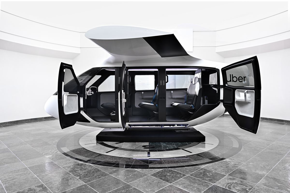 UberAir_Safran_Cabin_28 Uber planning 'skyports' for flying taxi service in LA