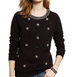 """Juicy Couture French terry embellished pullover, <a href=""""http://www.juicycouture.com/French-Terry-Jeweled-Pullover/JG008732.html"""">$158</a>"""