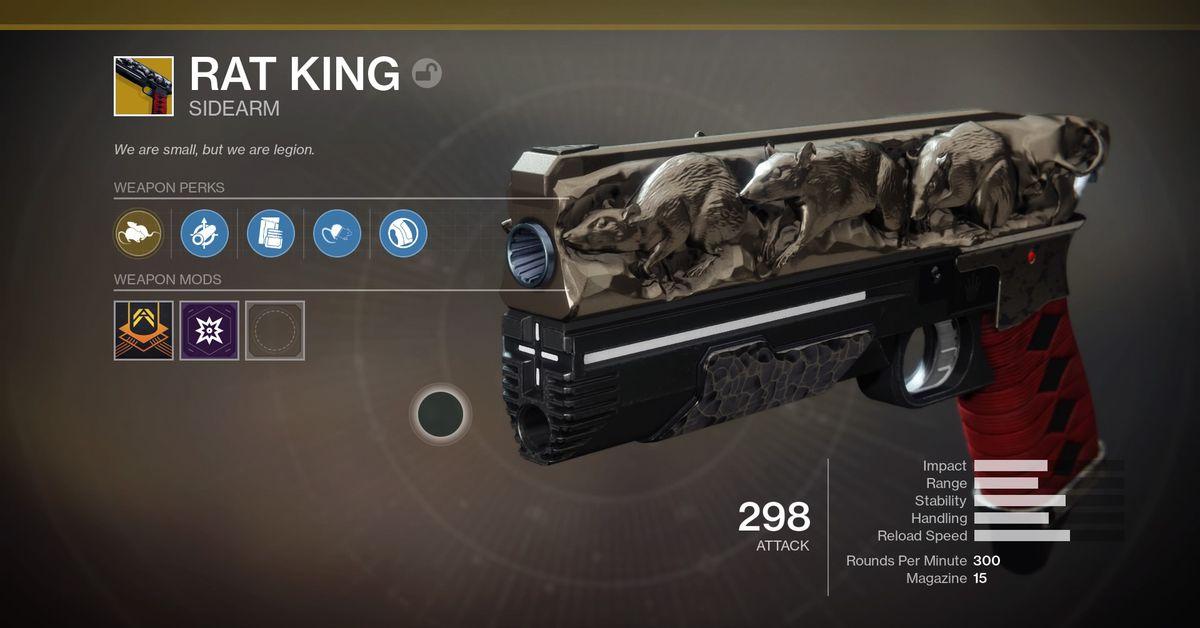 Destiny 2 Rat King guide - Polygon