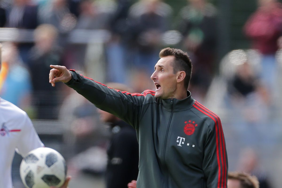 1. FC Koeln U17 v Bayern Muenchen U17 - B Juniors German Championship Semi Final Leg One