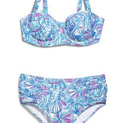 'My Fans' bikini top and bottoms, $24 each, 1X-3X (online only)