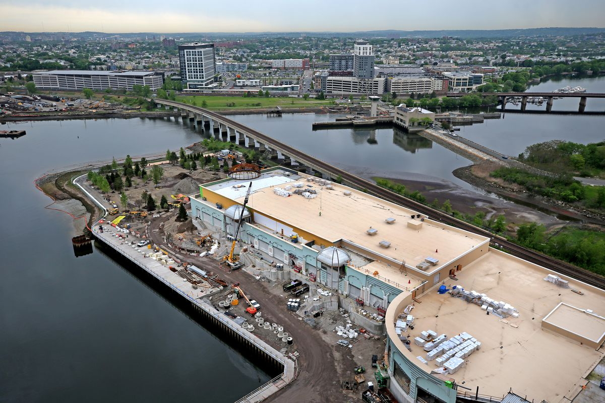 Encore Boston Harbor riverwalk will have around 1,000 trees ready for New England - Curbed Boston