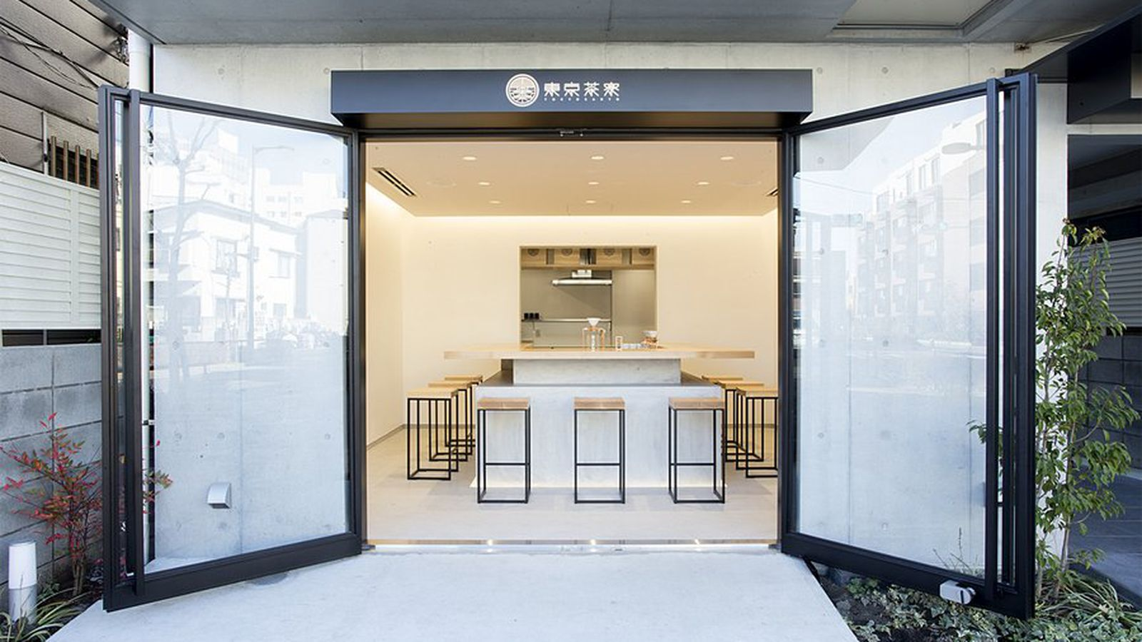 minimalist tokyo cafe serves 'world's first hand-dripped tea' - curbed