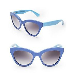 """<b>Marc by Marc Jacobs</b> Two Tone Cat Eye Sunglasses at <b>Bloomingdale's</b>, <a href=""""http://www1.bloomingdales.com/shop/product/marc-by-marc-jacobs-two-tone-cat-eye-sunglasses?ID=990462"""">$110</a>"""