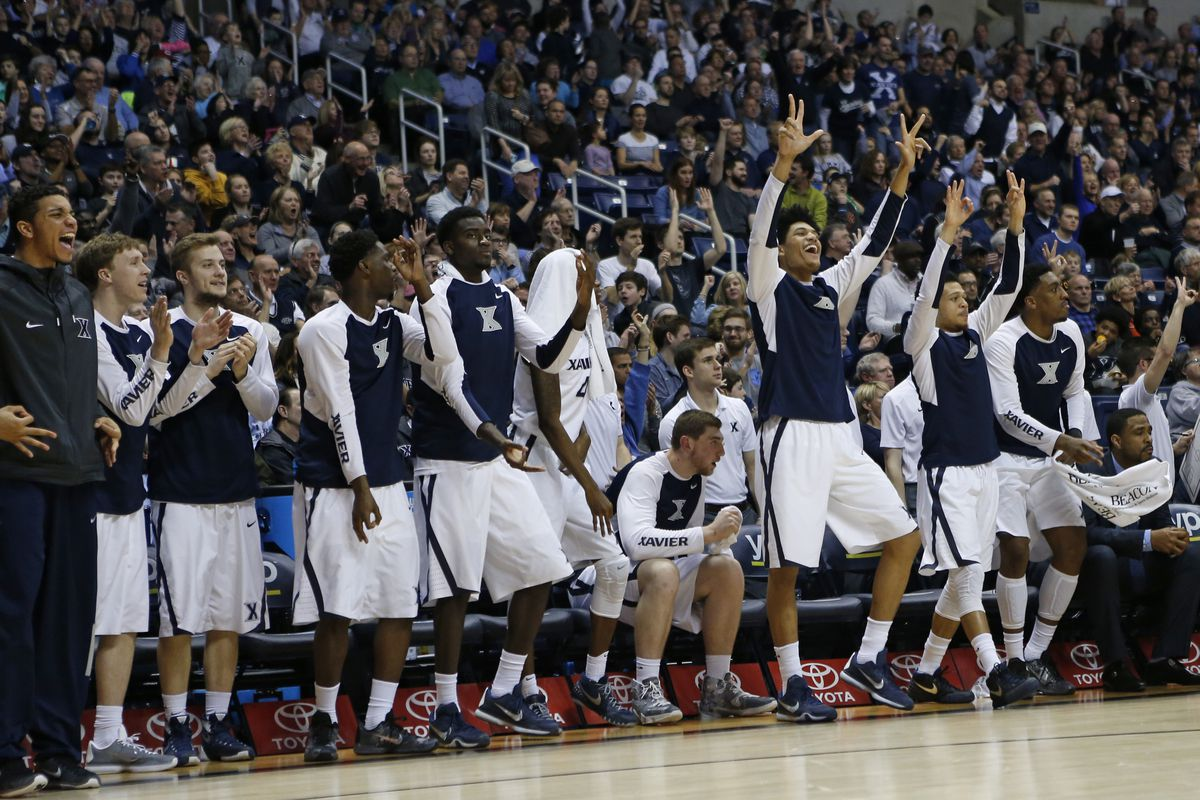 These guys are holding up threes, but Xavier is looking at a two seed.
