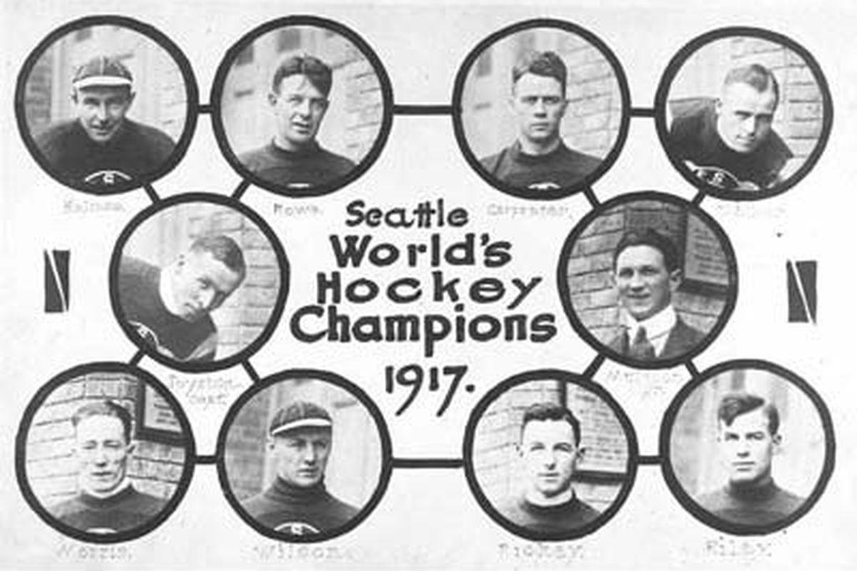 1917 Seattle Metropolitans