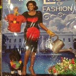 """Michelle Obama's Mix & Match Magnetic Wardrobe, $15.99 at <a href=""""https://www.facebook.com/pages/PULP-DC/47290477271"""">Pulp</a>"""