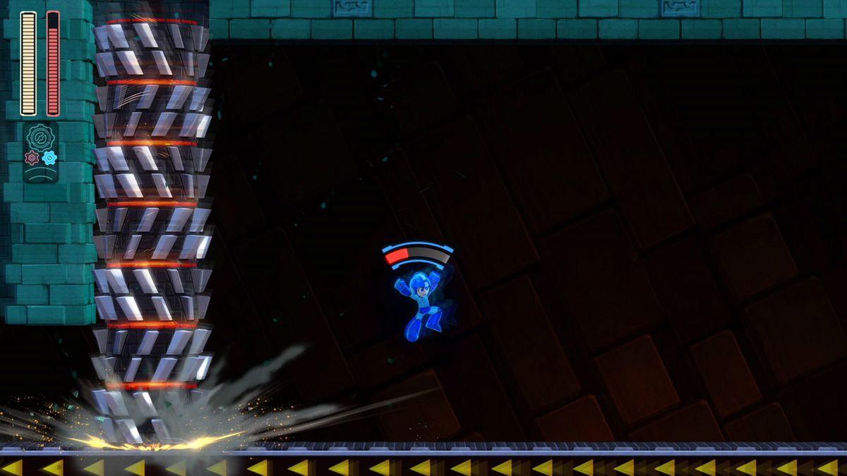 Mega Man 11 dodge