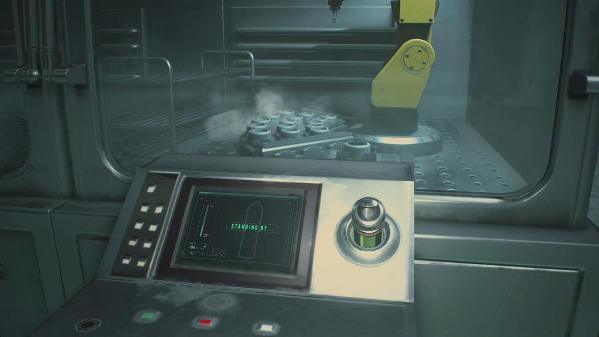 Resident Evil 2Low-Temp Testing Lab