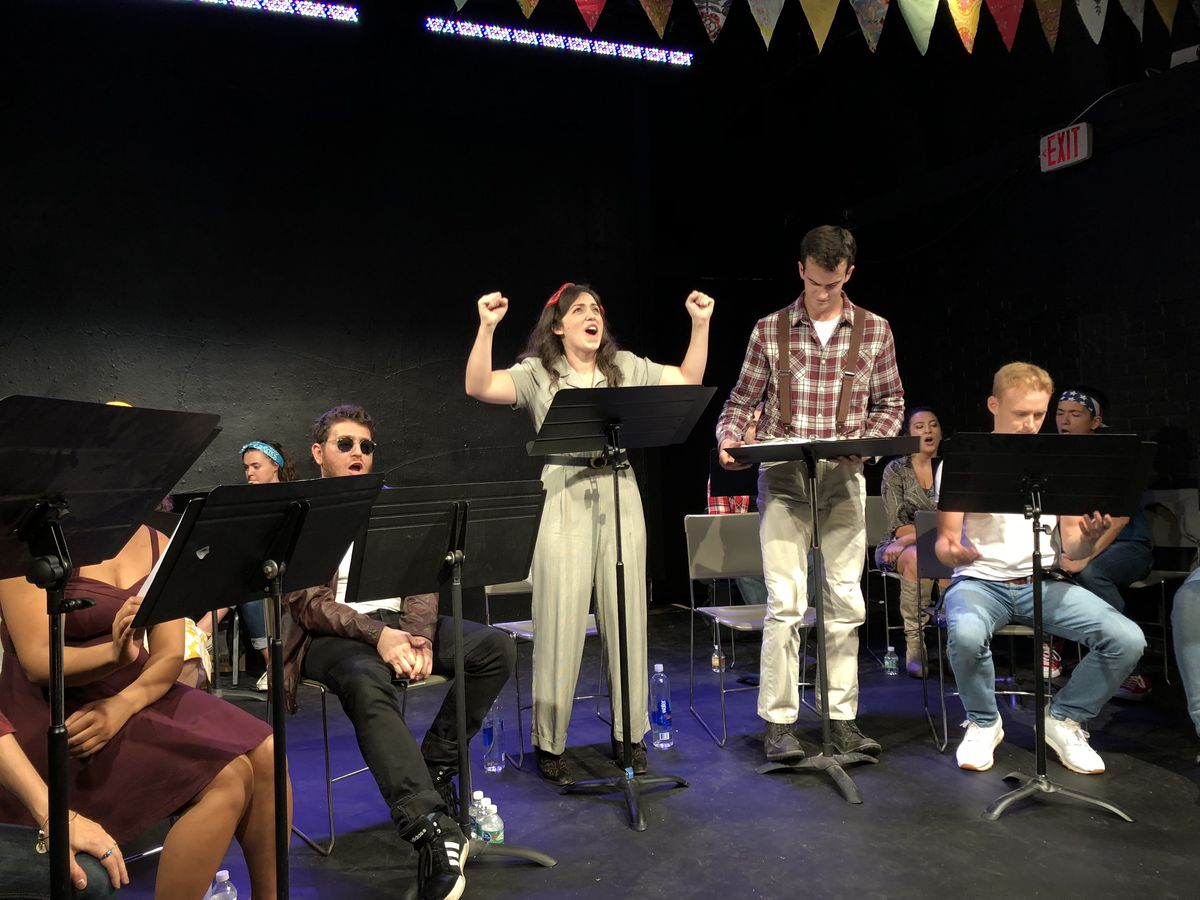 all star the musical live reading