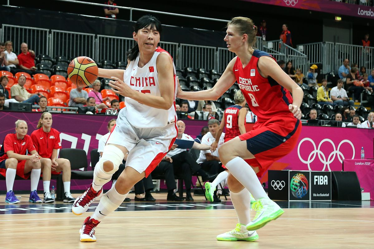 China's Nan Chen is the tournament's leading scorer thus far, averaging 17.7 points per game on 46-of-93 shooting.  (Photo by Christian Petersen/Getty Images)