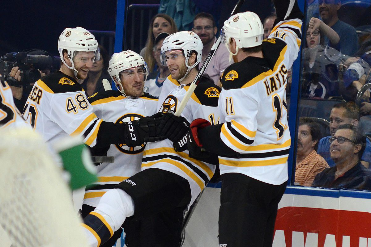 Bad Houseguests- The Bruins roll through town and beat your team. Count the silverware!