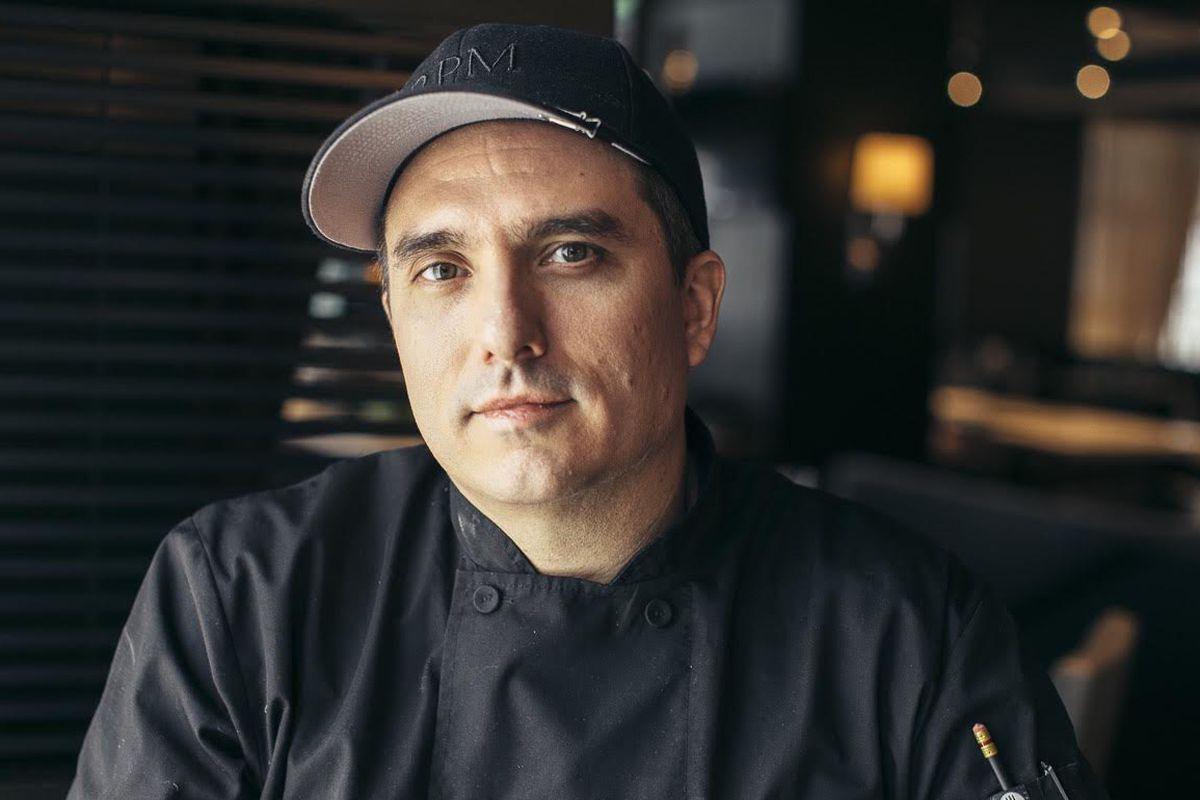 RPM Italian's new chef, Gabe Thompson