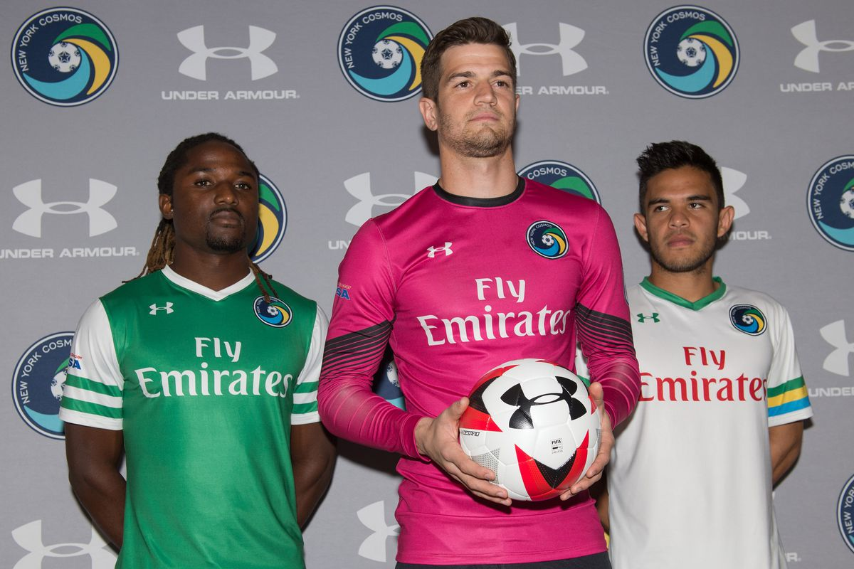 Soccer: New York Cosmos-Under Armour Kit Unveil