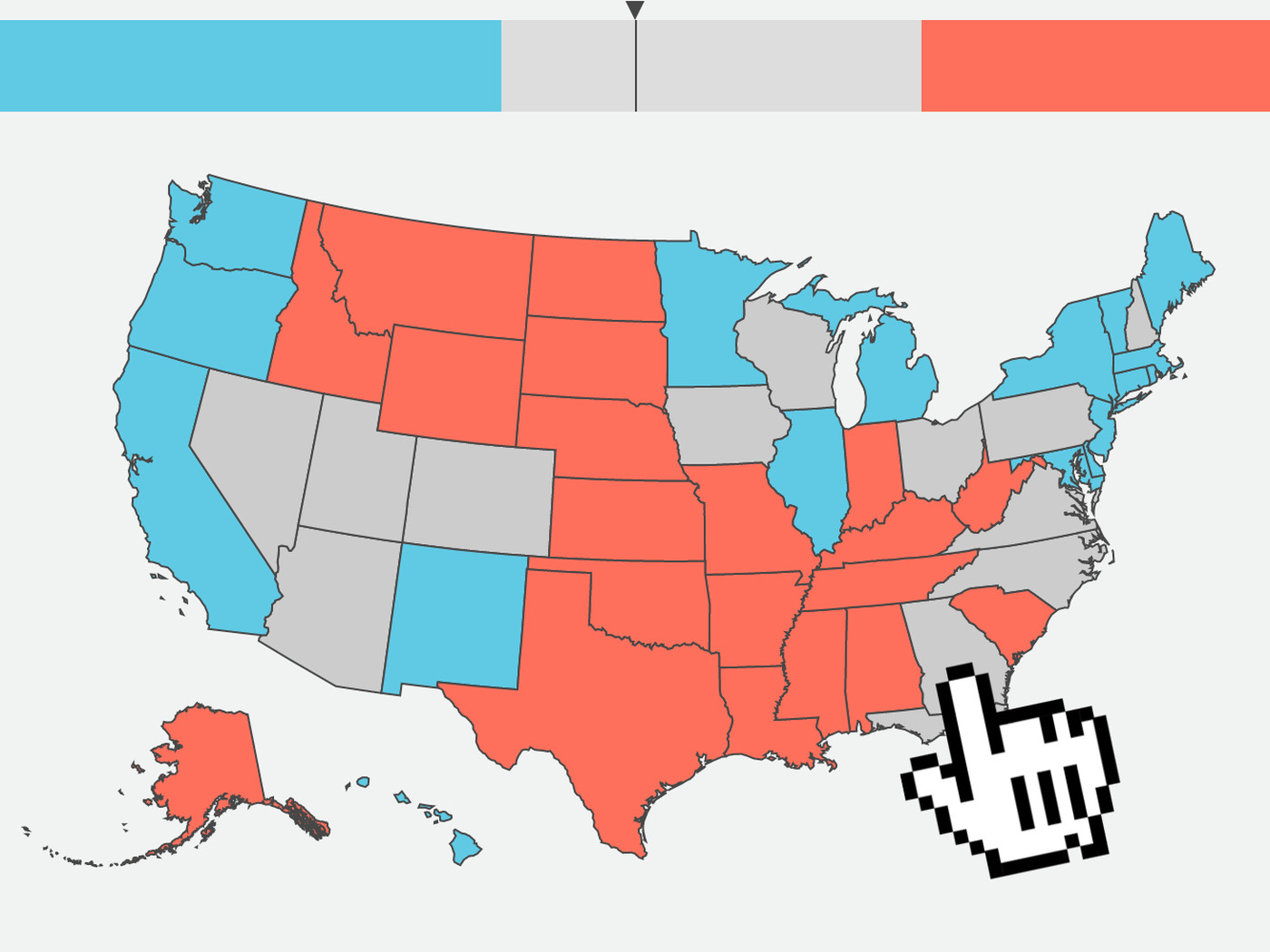 electoral college map 2016 make your election result predictions vox