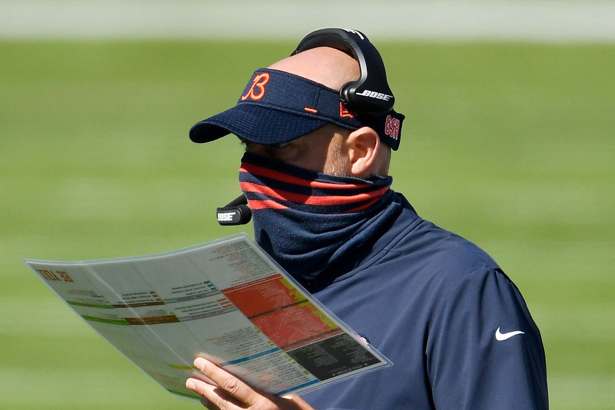 Matt Nagy is 28-20 in three seasons, with two playoff losses.