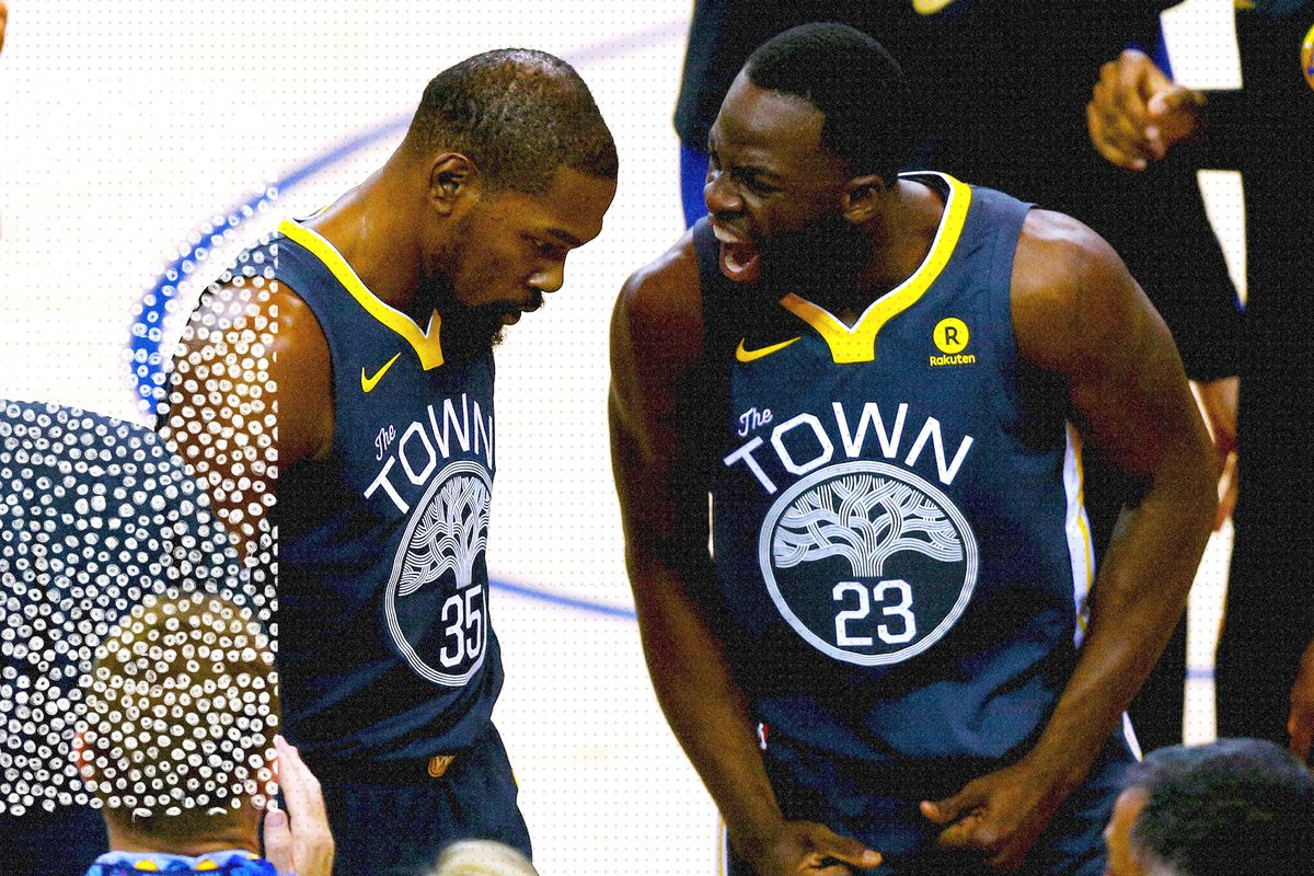 new style 1c117 3086b Kevin Durant-Draymond Green fight is the biggest threat to ...