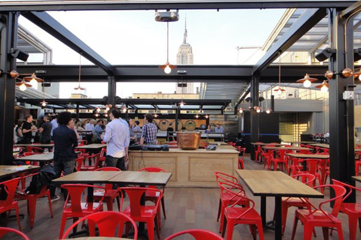 The Early Word On Eataly S Rooftop Beer Haven Birreria