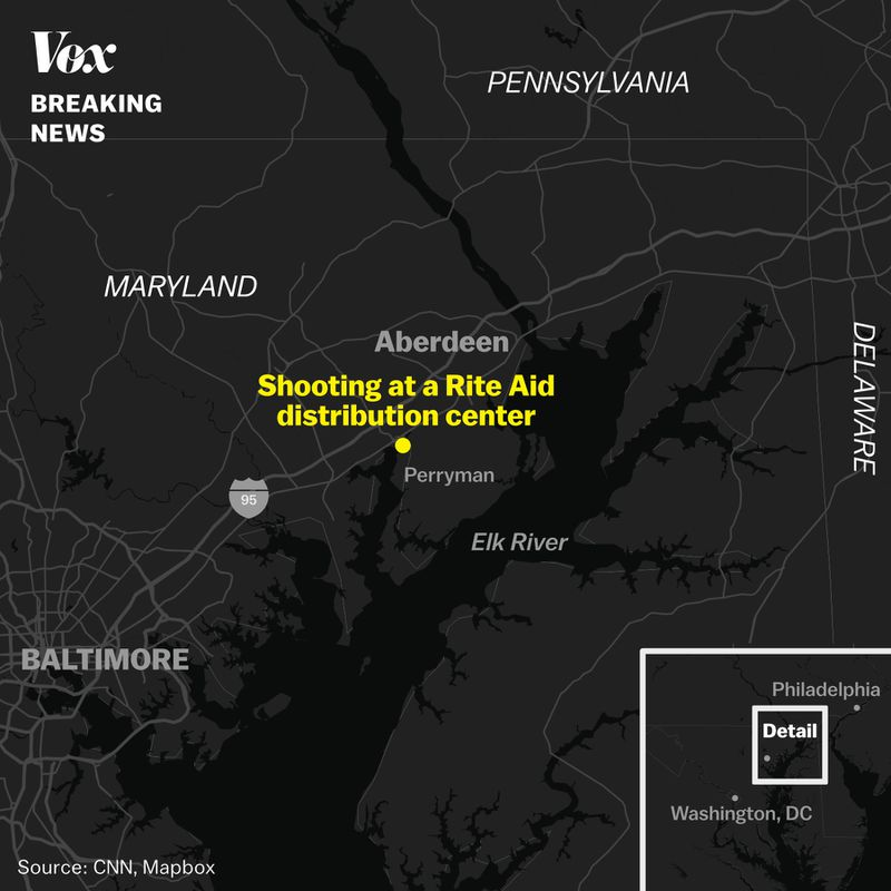 Rite_aid_shooting Aberdeen, Maryland, shooting at Rite Aid distribution center: what we know