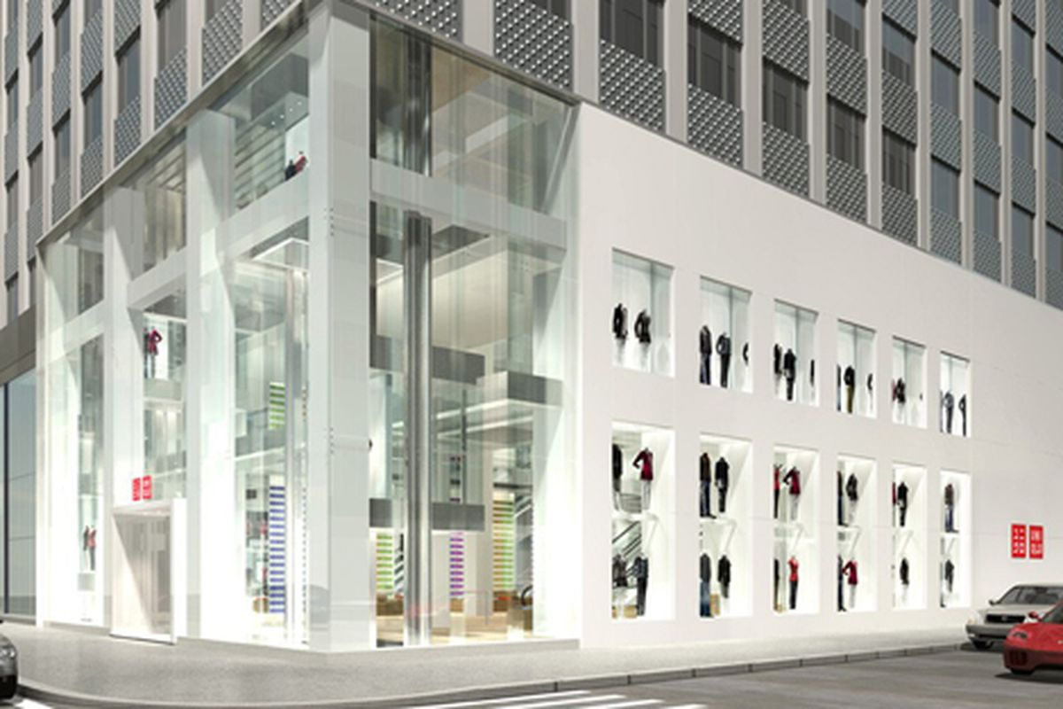 """Image via <a href=""""http://wwd2.wwd.com/retail-news/specialty-stores/uniqlo-to-open-two-largest-stores-5094865"""">WWD</a>"""