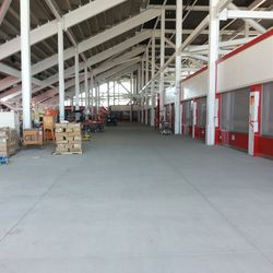 This picture does not do the concourse justice. You can probably fit three Candlestick Park concourses in here