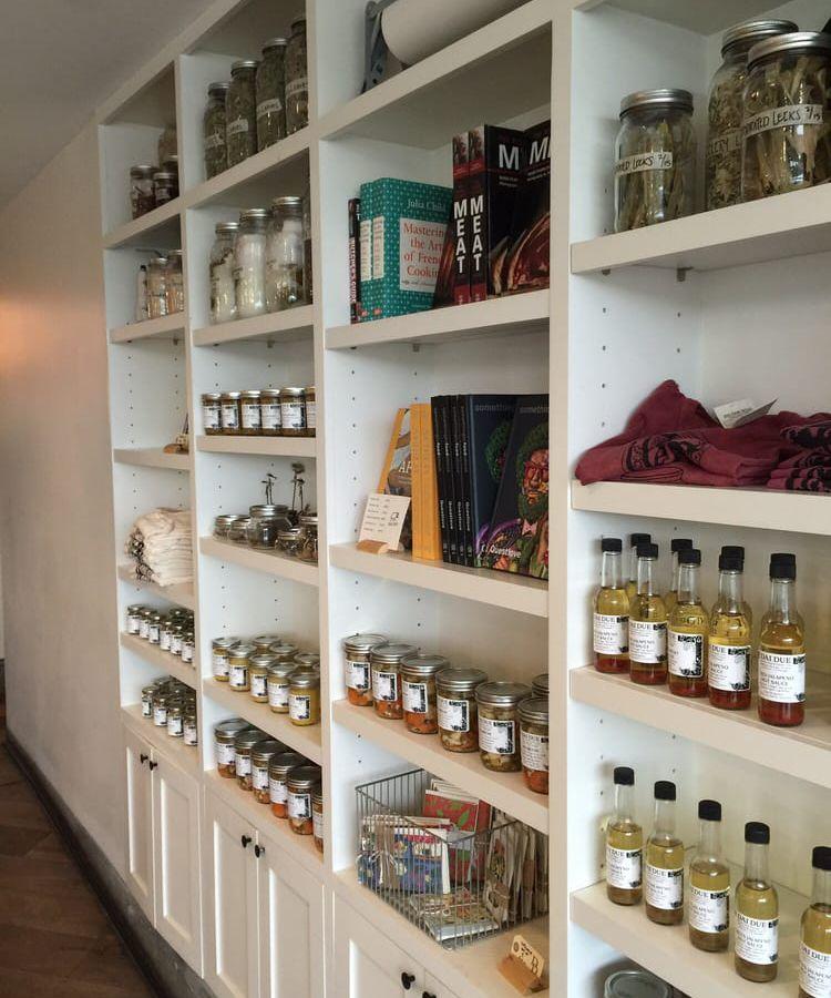 Dai Due's retail shelves